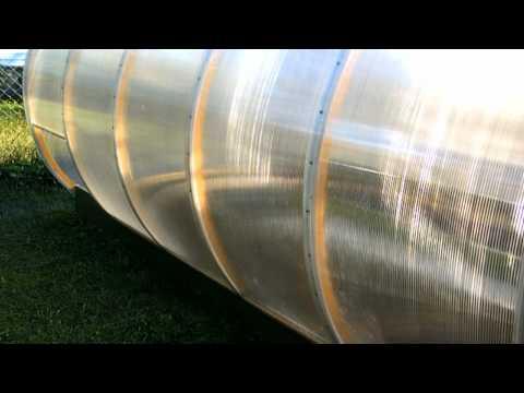 видео: Теплица трансформер второй вариант