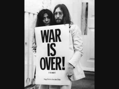 John Lennon  Happy Christmas War Is Over + Lyrics