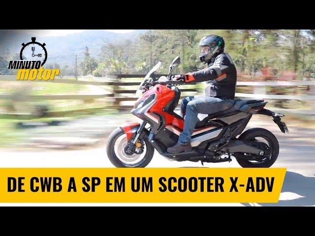 Viagem-teste: De Curitiba a São Paulo com o scooter X-ADV, da Honda | Minuto Motor