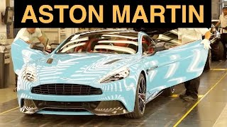 Aston Martin Factory Tour - How Supercars Are Born