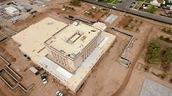 Mesa Temple Aerial Update   August 10th, 2019