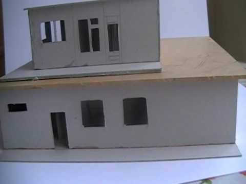 Schaal model huis youtube for Huis inrichten op schaal