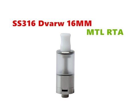 16MM Dvarw MTL RTA Rebuildable Tank Atomizer from Wejoytech