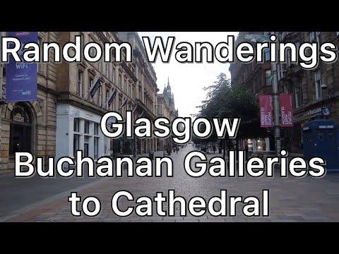 Wandering around Glasgow City Centre - Buchanan Galleries to Cathedral