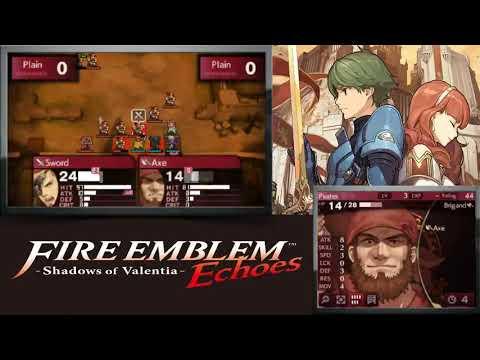 Fire Emblem Echoes: Shadows of Valentia - Session #2B