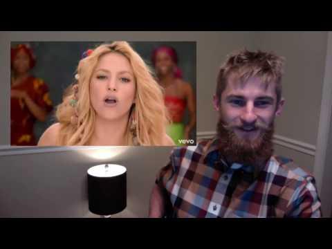 Shakira - Waka Waka -This Time for Africa  (REAction)