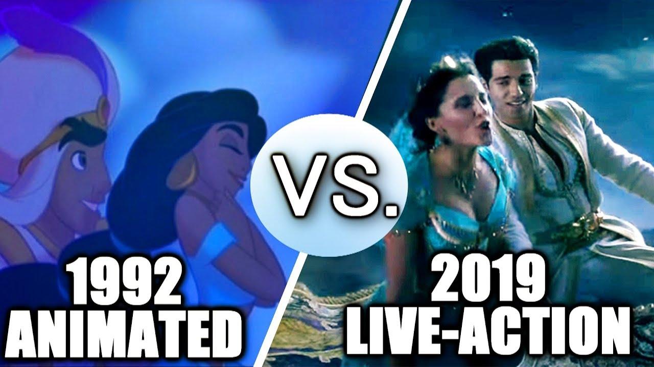 Aladdin (1992 vs 2019) - Song Comparison