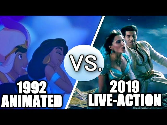 Aladdin (1992 vs 2019) - Song Comparison