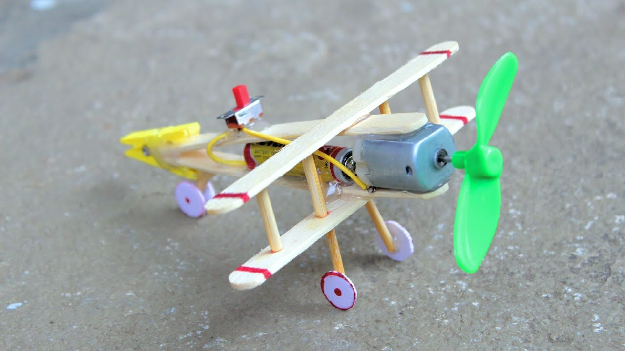 How to make an airplane