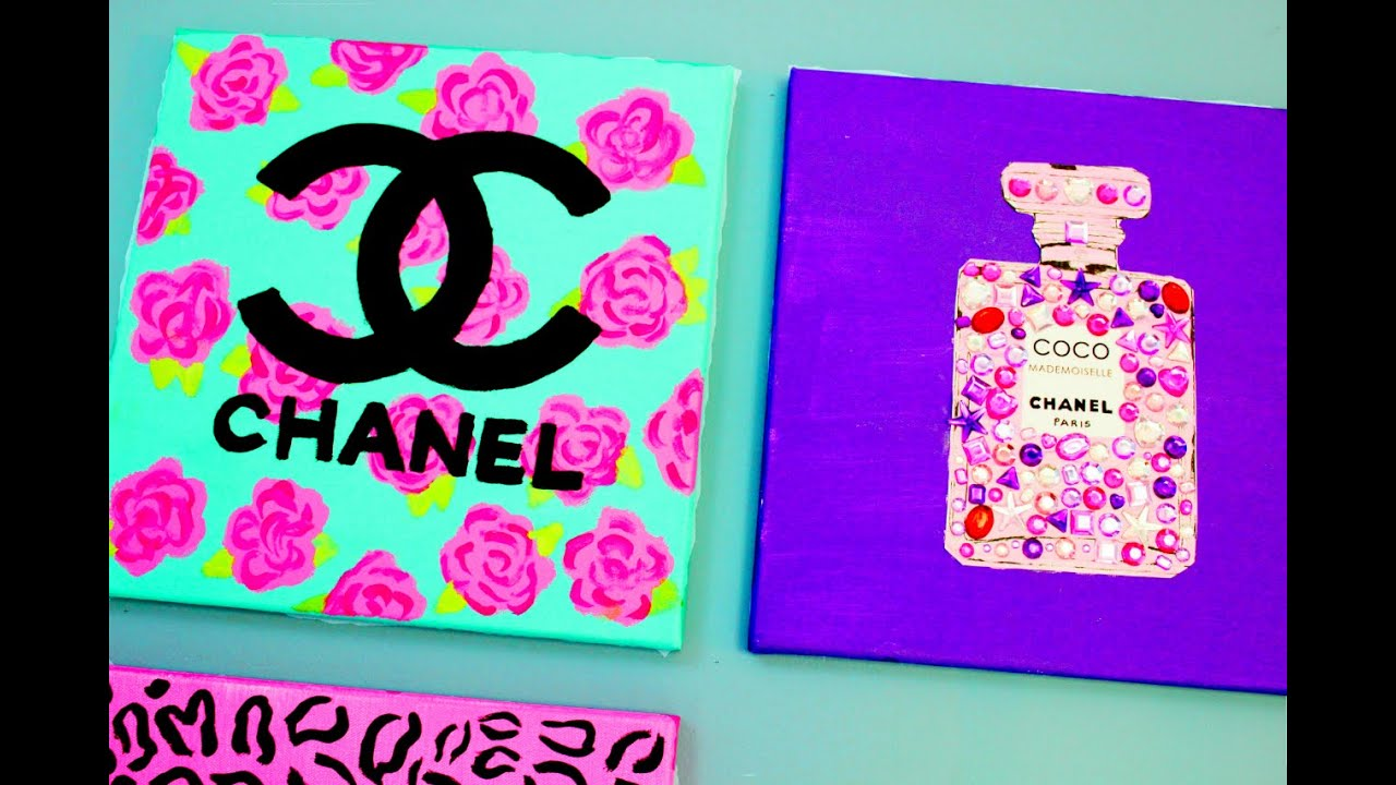 Chanel Perfume Bottle DIY Painting Cute Easy Girly Fun Fashion Inspired