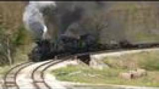 Cass Railfan Weekend 2008 - The Log Train