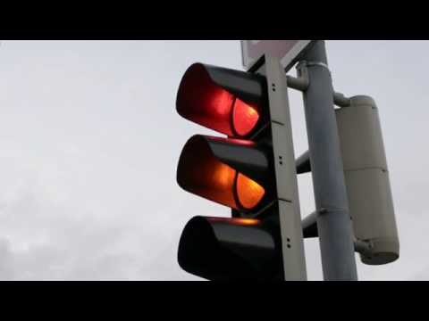 Traffic Lights, Red, Orange And Green