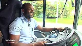 Lustigster Busfahrer Hessens - maintower - hr-fernsehen