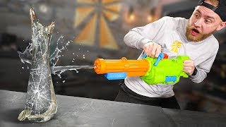 Destroying Things With a Water Gun?