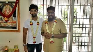 Cameo Films Production No. 3 Press Release | Actor Atharvaa's Next Film Pooja