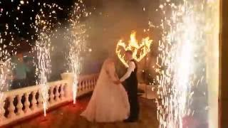 Пиродорожка и огненное сердце на свадьбу в Ростове