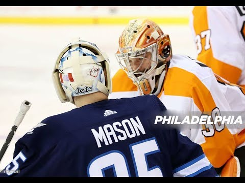 Philadelphia Flyers vs Winnipeg Jets, 16 november 2017