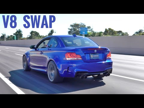V8 Swapped 1 Series BMW - LOUD