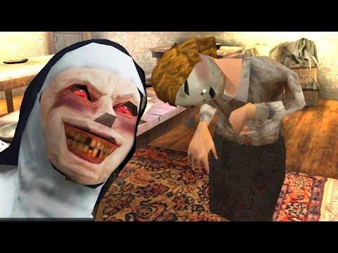 Нашли Секретную комнату! Монахиня заставляет детей работать Evil Nun Scary Horror Game Adventure