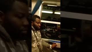 Italy train journey of night