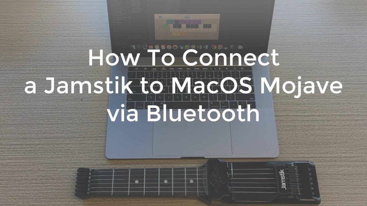 How do I connect my Jamstik to Mac via Bluetooth? – Help Center