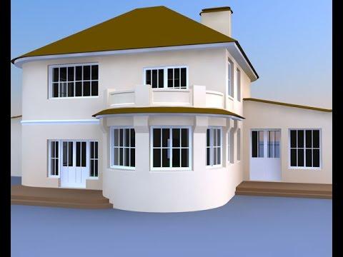3d max как сделать дом