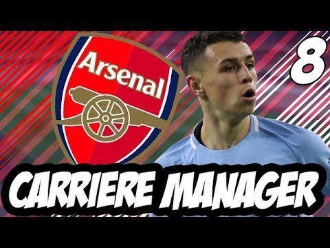 FIFA 18 | CARRIERE MANAGER | ARSENAL FC | #8 : MERCATO HIVERNAL !