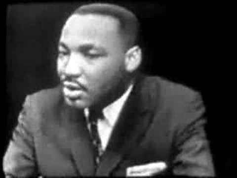 Reverend Martin Luther King Jr. on Tactics