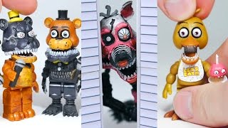 BRICK 101 FNAF roleplay compilation LEGO McFarlane Toys Five Nights at Freddy s highlights