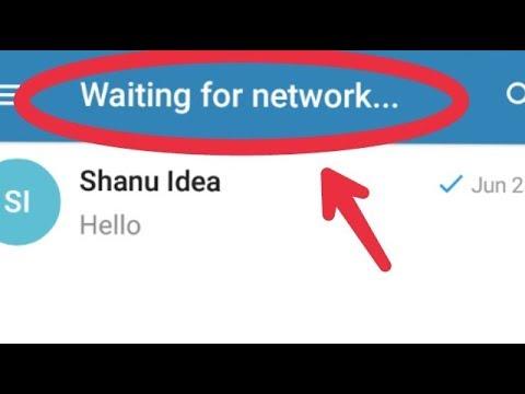 Fix Telegram Waiting For Network Problem Solve