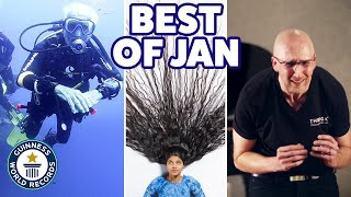 Amazing new January records! - Guinness World Records YouTube Videos