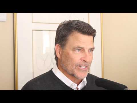 Ted McGinley : Do You Believe? Press Junket www.TagHollywood.com  Part 1