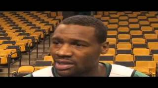 Celtics guard Tony Allen on guarding Kobe Bryant