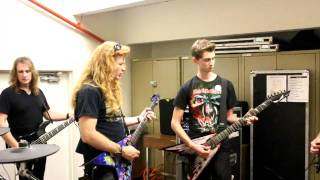 "Playing ""A Tout Le Monde"" with Megadeth"