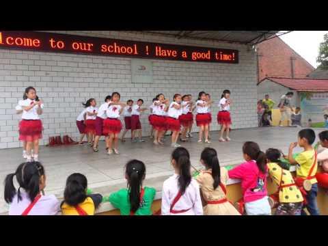 China school dance