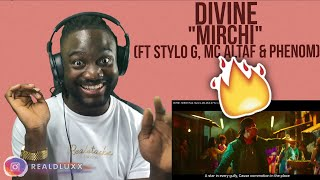 🇬🇧 UK REACTS TO INDIAN RAP | DIVINE - MIRCHI Feat. Stylo G, MC Altaf & Phenom | Official Music Video