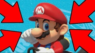 Mario Kart 8 Deluxe Item Smuggling Zoomed In Edition