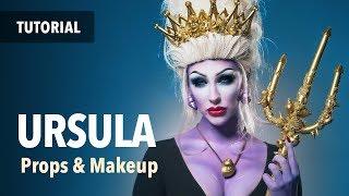 Ursula props and makeup tutorial