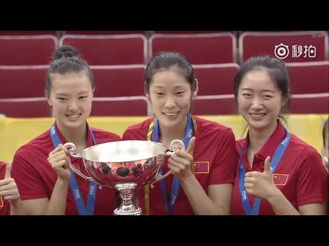 China Team [2017 Women's Volleyball World Grand Champions Cup Highlights]