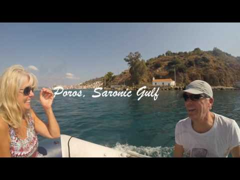 Sailing Greece 2016. Remote anchorages in the Aegean Sea