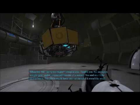 Portal 2 with a Laughtrack [Side Blog]