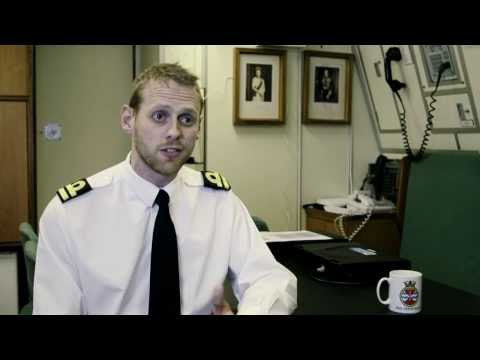 Life in the Royal Navy as an Officer