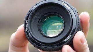 Объектив самый лучший? YONGNUO f/1.8 50mm с Алиэкспресс за 50$ + обзор и отзыв