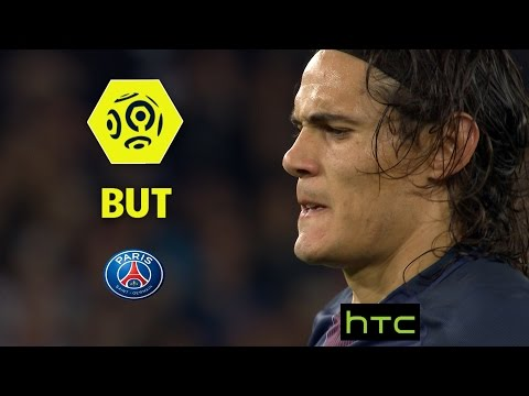 But Edinson CAVANI (27' pen) / Paris Saint-Germain - Dijon FCO (3-0) -  / 2016-17