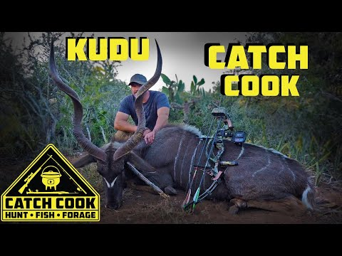 Bow Hunting a Greater kudu at Bloukrans, South Africa | CATCH COOK