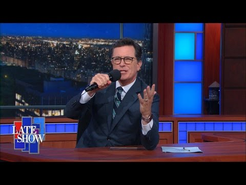 Stephen Colbert Takes The Gloves Off: Hillary