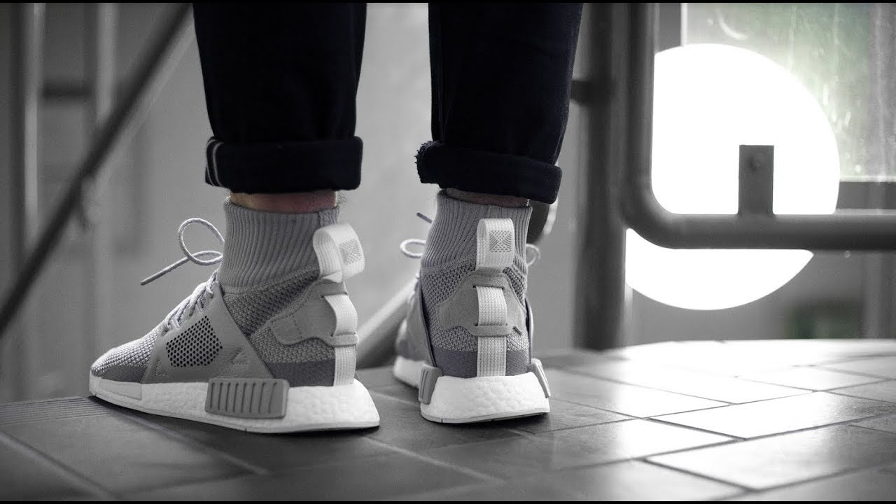 ab4d97d85 ADIDAS NMD XR1 WINTER BZ0633 - MATE - YouTube