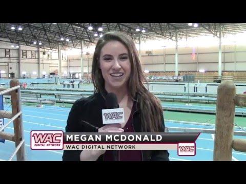 WAC Digital Network Update: Indoor Track & Field Day One