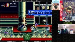 Sega Genesis A Z : Adventures Of Batman & Robin (journey To Beat Every Sega Genesis Game) Day 3