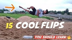 15 Cool Flips  | You should learn 🤟